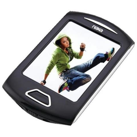 Naxa NMV179SL 4gb 2.8 in. Touchscreen Portable Media Player -silver
