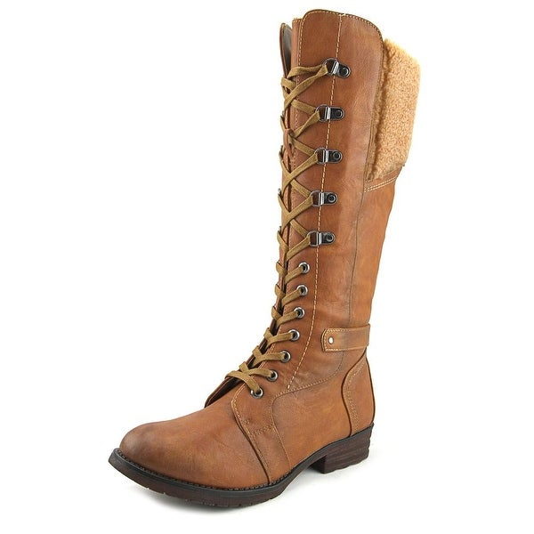 Patrizia By Spring Step Snowball Camel Boots