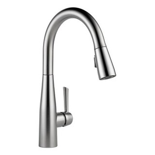 Delta 9113-DST Essa Pull-Down Kitchen Faucet with Magnetic Docking Spray Head - Includes Lifetime Warranty (4 options available)