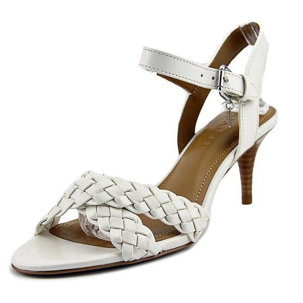 Coach Womens Marilyn Leather Open Toe Casual Strappy Sandals