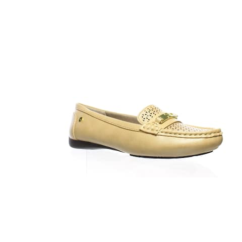 LifeStride Womens Viva 2 Sand Loafers Size 7