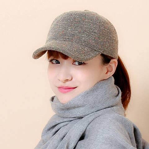 Autumn Tweed Ball Cap
