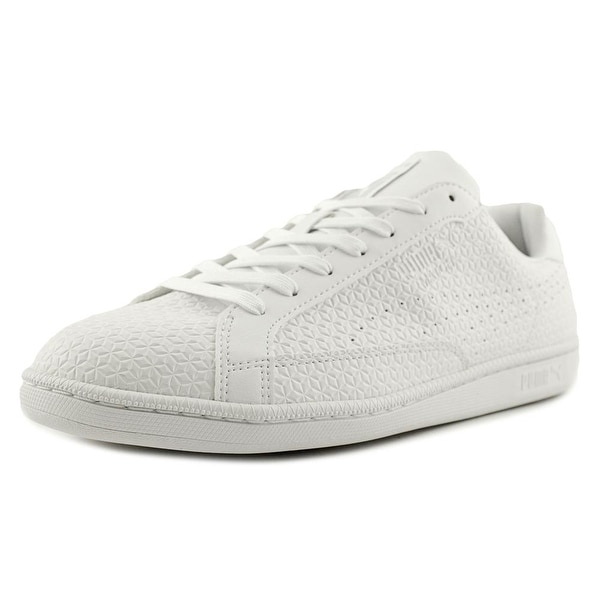 Puma Match Emboss Men White Sneakers Shoes