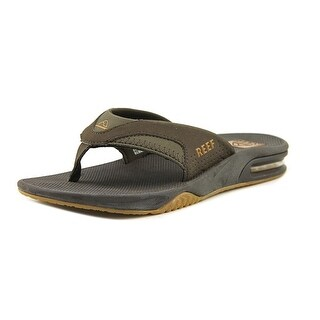 Reef Fanning Youth Open Toe Synthetic Brown Flip Flop Sandal