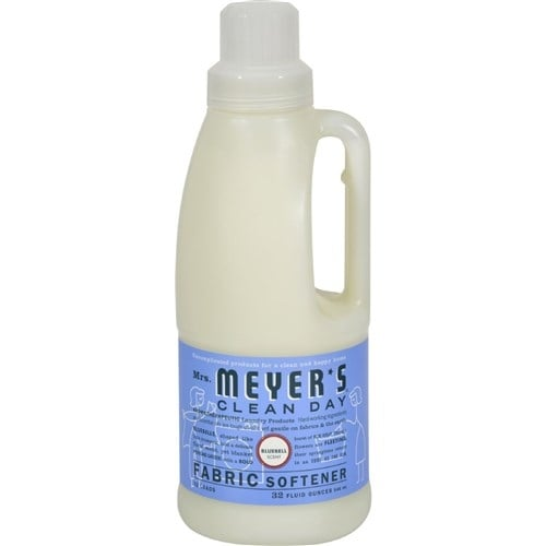 Mrs. Meyer's Fabric Softener - Bluebell - Case of 6 - 32 oz Laundry