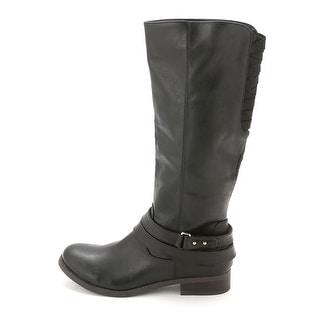 Material Girl Women's LEVI Knee High Riding Boot