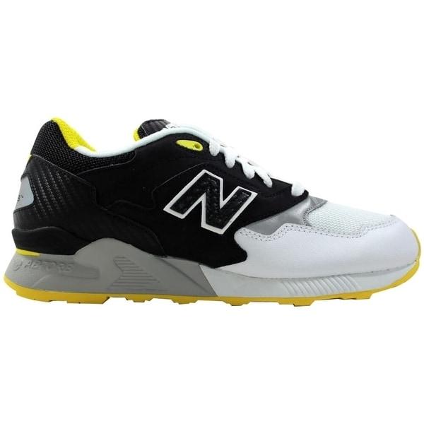 Shop New Balance 878 White/Black-Yellow