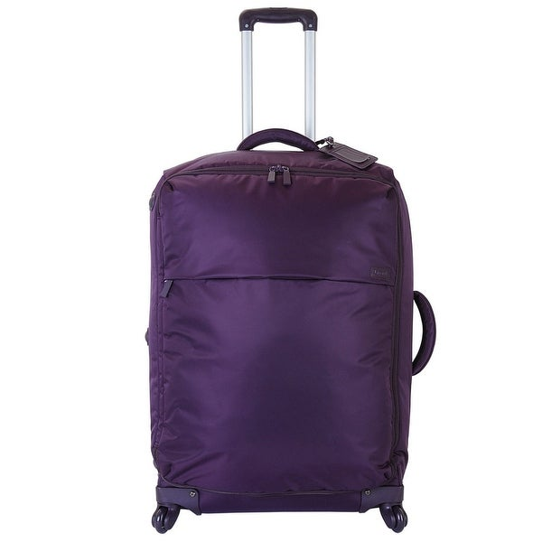 76dc03947 Shop Lipault Luggage Original Plume 20-Inch Spinner, Purple - Free Shipping  Today - Overstock - 15002099