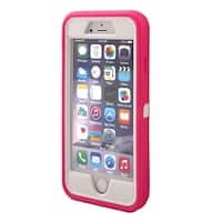 TPU 360 Degree Rotary Belt Clip Phone Case Cover Magenta for iPhone 7 Plus