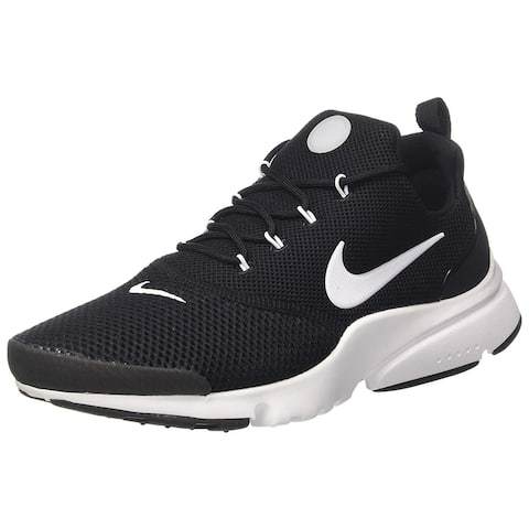 timeless design b933e b3ae4 Nike Mens Presto Fly Se Fabric Low Top Lace Up Trail Running Shoes