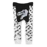 Doodle Pants Toddler Dinosaur Pants - Children's Kid's Leggings - Gray