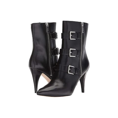 Michael Michael Kors Womens Lori Bootie Pointed Toe Mid-Calf Fashion Boots