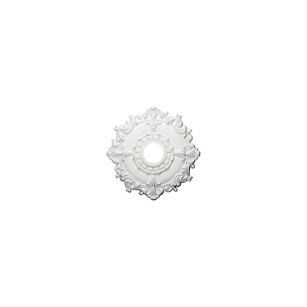 "Ekena Millwork CM18RL 18"" Wide Riley Ceiling Medallion"