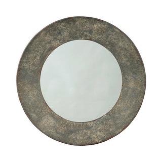 Ashley Furniture Carine Round Tapered Design Accent Mirror A8010147