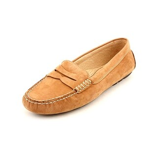 Lauren Ralph Lauren Camila Moc Toe Leather Loafer