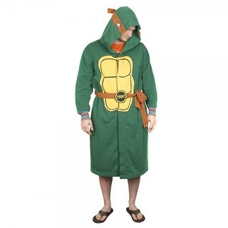Teenage Mutant Ninja Turtles Hooded Robe: Large/ X-Large - Green