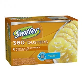 Swiffer 16944 360-Degree Disposable Duster Refill, 6-Count