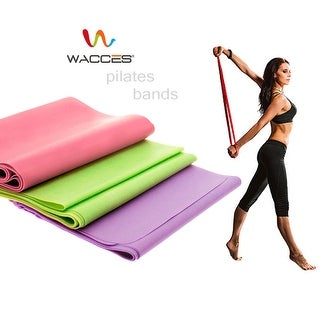 Wacces Pilates Resistance Band Stretch Therapy Exercise Fitness Band