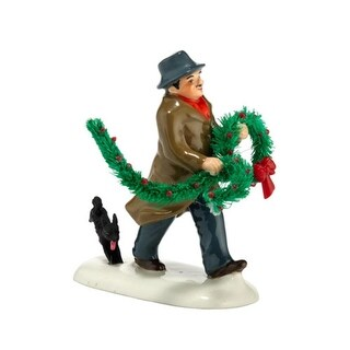 """Department 56 Snow Village """"Haul Out the Holly"""" Figurine #4025330"""