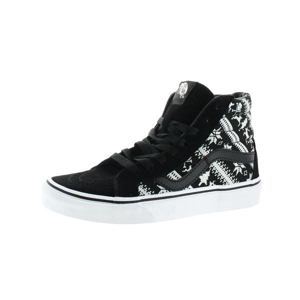de07eba0c6263a Vans Womens Sk8-HI Reissue High Top Sneakers Suede Skate - 5 medium (b