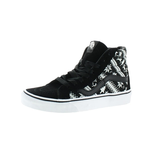 9a9d9c5e933 Vans Womens Sk8-HI Reissue High Top Sneakers Suede Skate - 5 medium (b