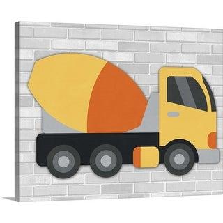 """""""Construction III"""" Canvas Wall Art"""