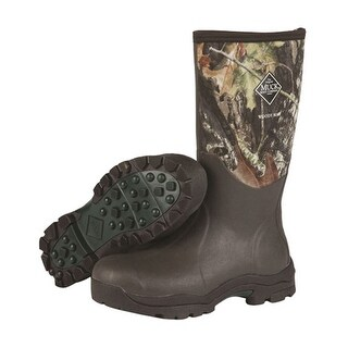 Muck Boot's Womens Woody Max Mossy Oak Break Up Boot w/ Fleece Lining - Size 11