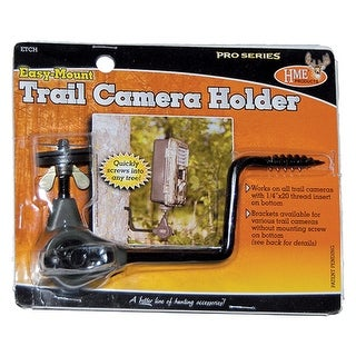 Hme products etch hme trail cam tree mount w/360 rotation 1/4 thread