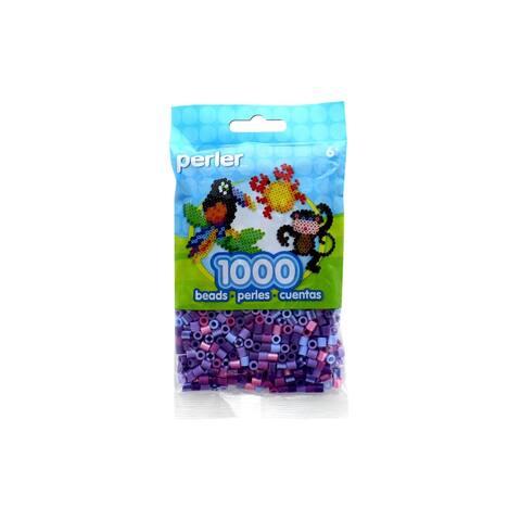 Perler Fused Bead Bag 1000pc Jewel Tone Purple Mix