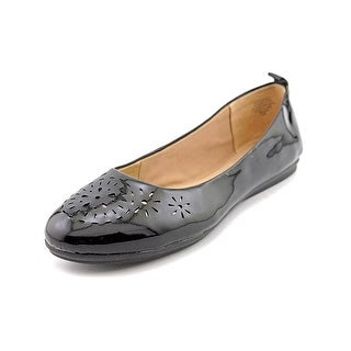 Easy Spirit Womens Gramercy Round Toe Slide Flats