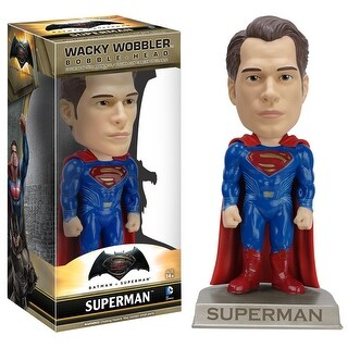 Batman vs. Superman Superman Wacky Wobbler Bobblehead - multi