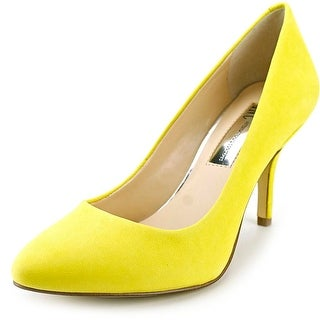 INC International Concepts Zitah3 Pointed Toe Leather Heels