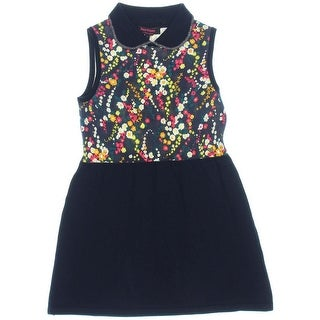 Juicy Couture Black Label Girls Wildflower Print Casual Dress - 8