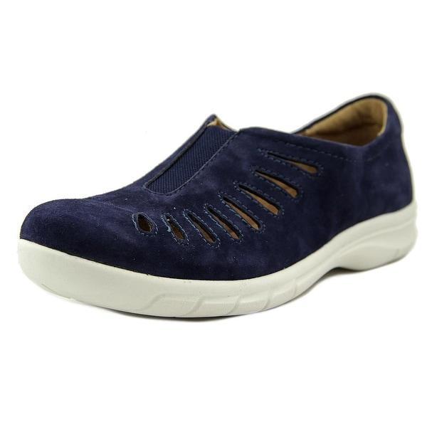 Comfortiva Tinsley Women W Round Toe Suede Walking Shoe
