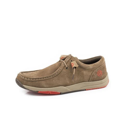 Roper Casual Shoes Mens Clearcut Low Tan
