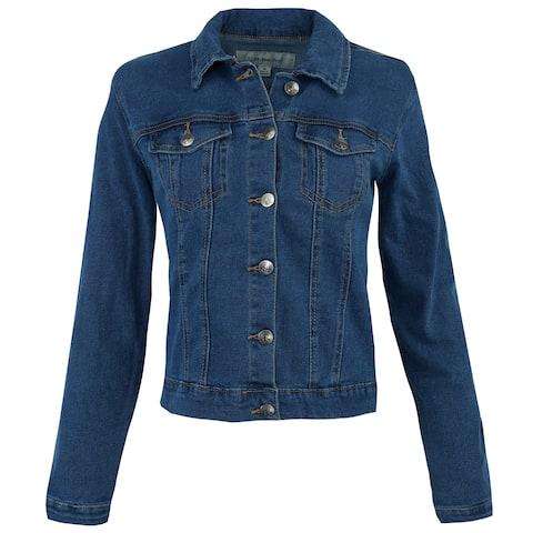 Calvin Klein Women's Denim Trucker Jacket