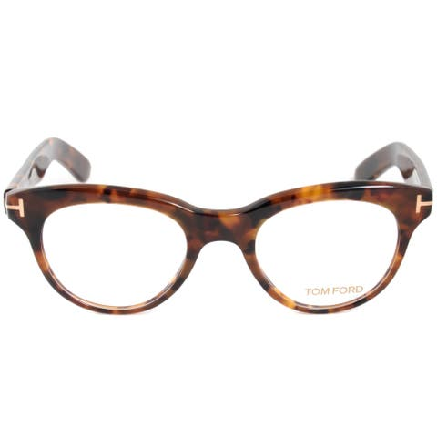 cba2435cf1 Tom Ford FT5378 52 Cat Eye Dark Havana Eyeglass Frames