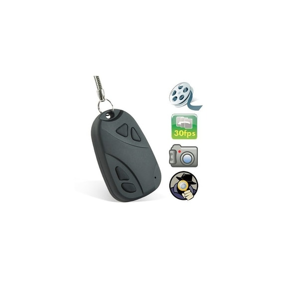 Spytec Bw-Videocamkey2 High Resolution Video Camera Keychain W/Battery Life Of 45 Minutes