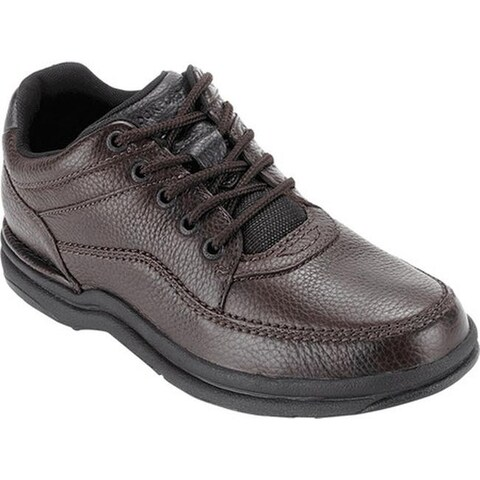 Rockport Men's World Tour Classic Walking Shoe Brown Tumbled