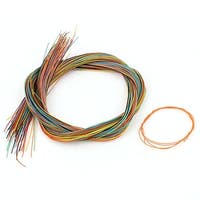 Unique Bargains 50cm 47G Female to Female Connector Jumper Wire Cable Test Line Multicolor