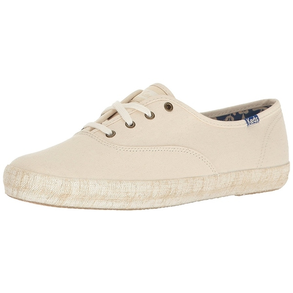 Keds Women's Champion Burlap Foxing Fashion Sneaker