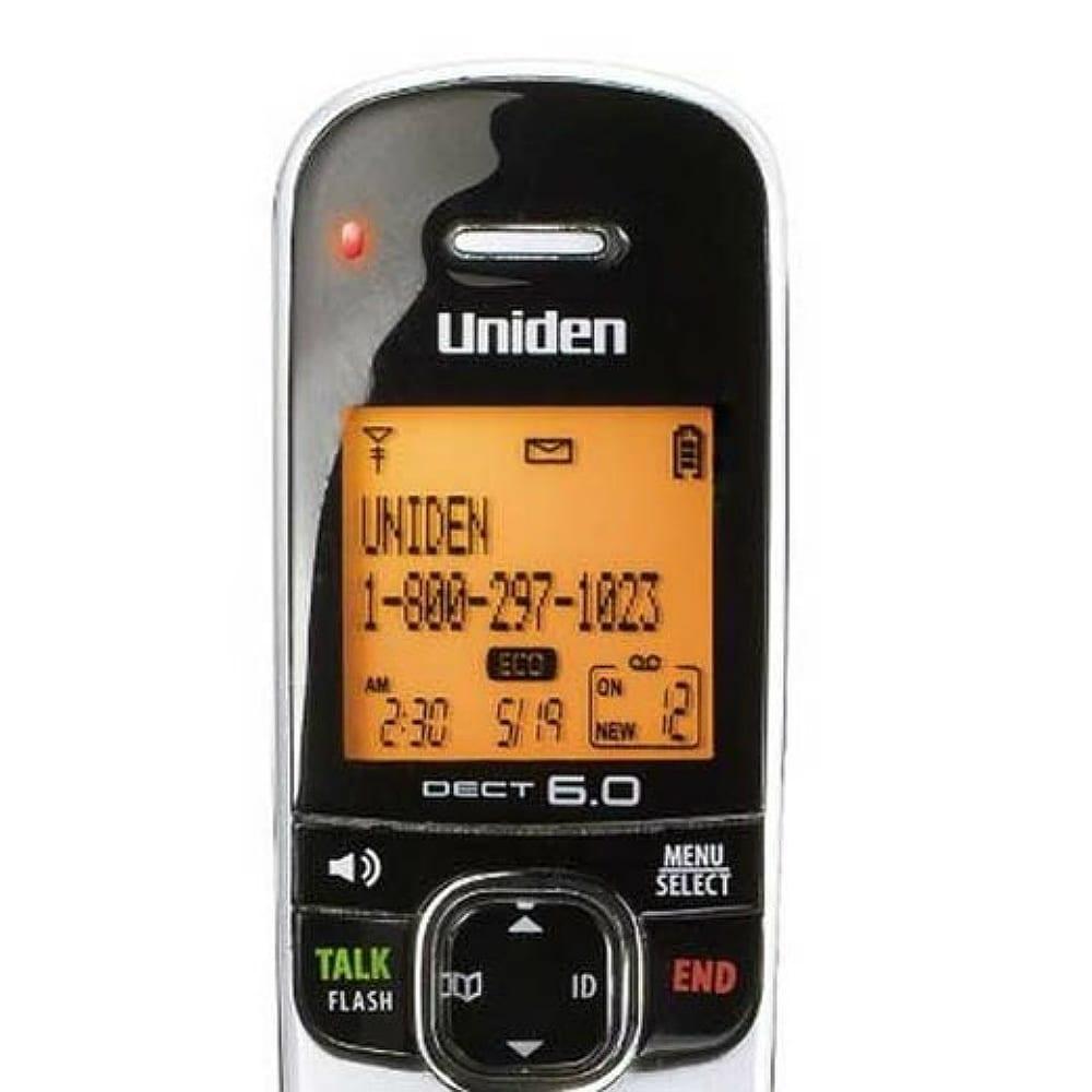 Consumer Electronics Uniden D1780 DECT 6.0 Expandable Cordless ...