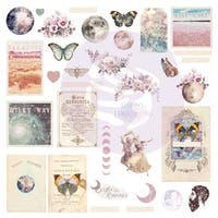 Moon Child Ephemera Cardstock Die-Cuts 31/Pkg-Shapes, Tags, Words, Foiled Accents