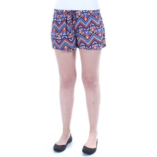 STOOSH $56 Womens New 1178 Blue, Orange Tribal Cropped Short Juniors S B+B