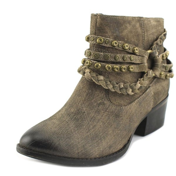 Naughty Monkey Annie Taupe Boots