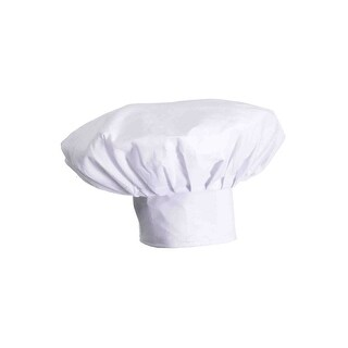 Forum Novelties Deluxe Chef Hat - White