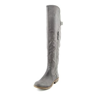 American Rag Duncan Women Round Toe Synthetic Gray Over the Knee Boot