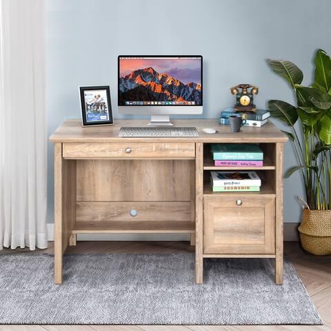 Home Office PC Laptop Computer Desk Wooden Writing Desk Vanity Desk