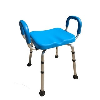 Independence(tm) Deluxe Bath Chair - Bath & Shower Bench PADDED with Armrests - Commercial Quality