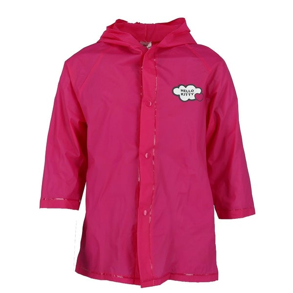 fe2665e52 Shop Sanrio Kid's Hello Kitty Rain Jacket - Free Shipping On Orders Over  $45 - Overstock - 24240311
